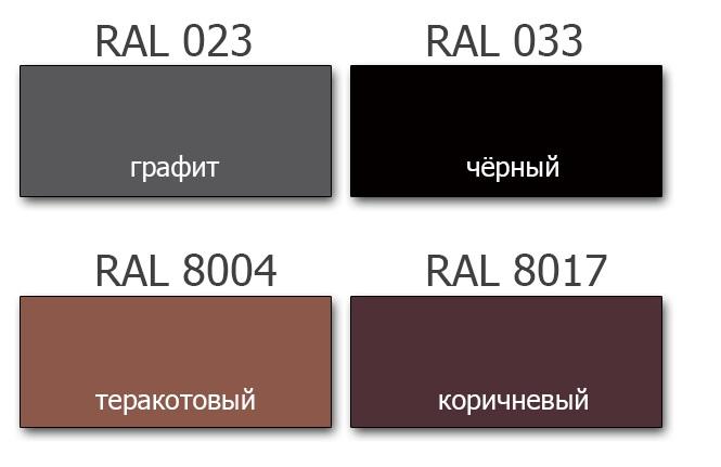 Цветовая гамма Карпатия